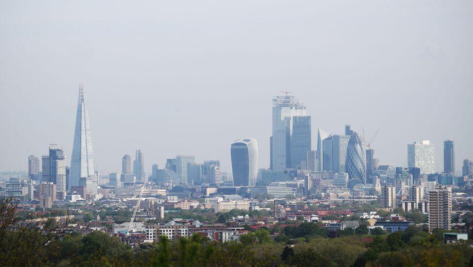 Bankenviertel in London (Archivbild)