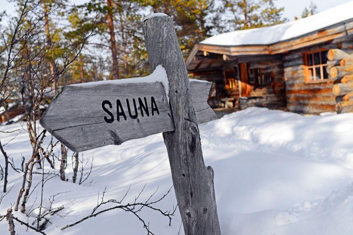 Authentisches Finnland-Erlebnis: Links abbiegen