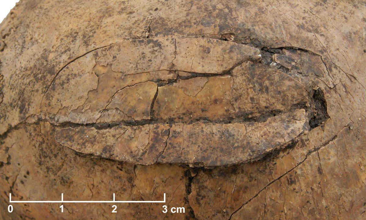 Steinzeitlichen Massenmord / Schöneck Kilianstädten