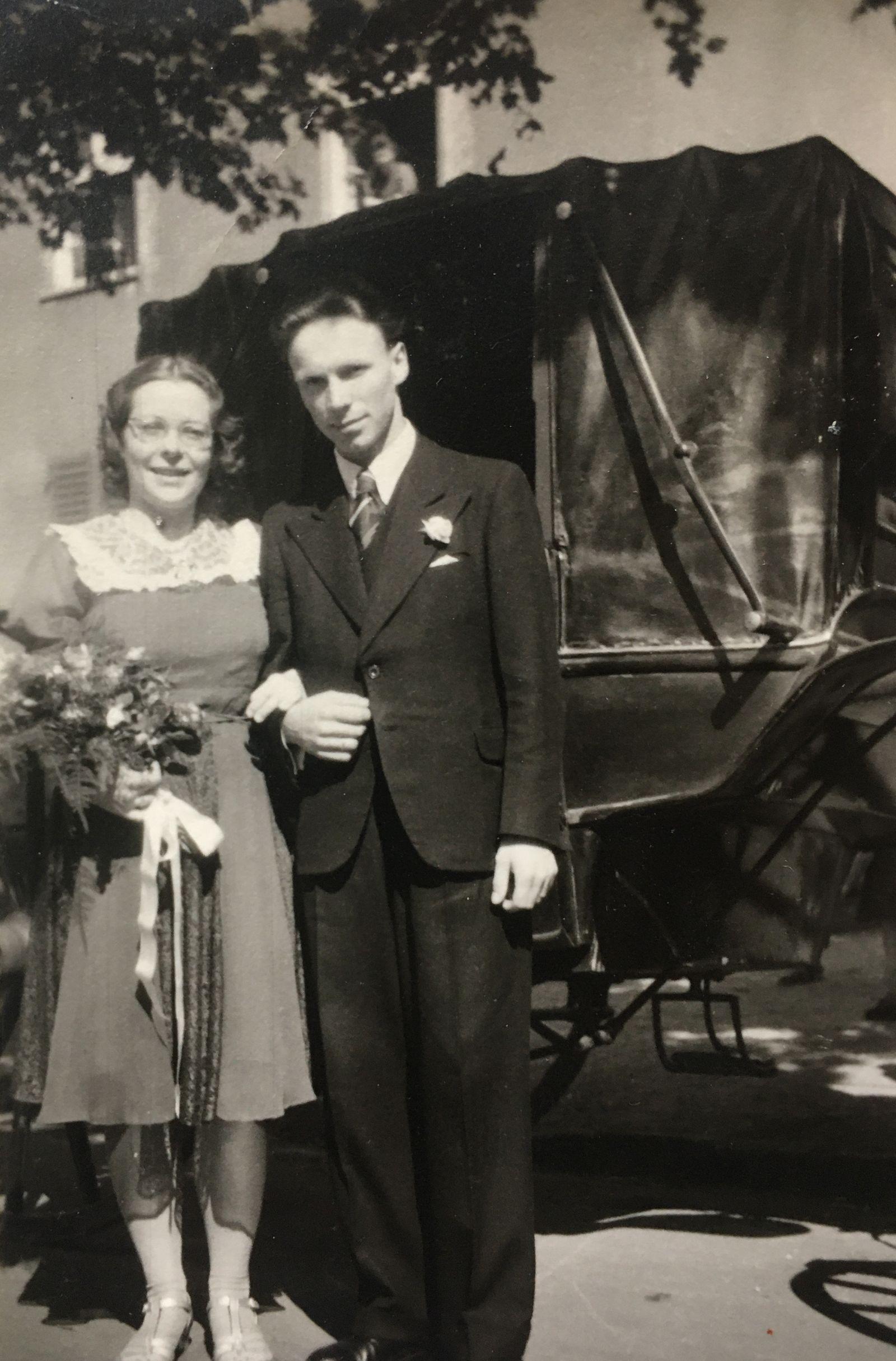 Bombardierung Dresden - Familie Petra Roschinsky - Hochzeitsfoto