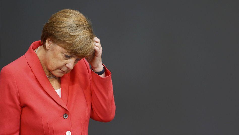 Angela Merkel: Verantwortlich für alles?