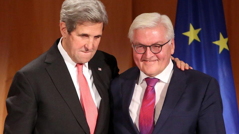 John Kerry und Frank-Walter Steinmeier