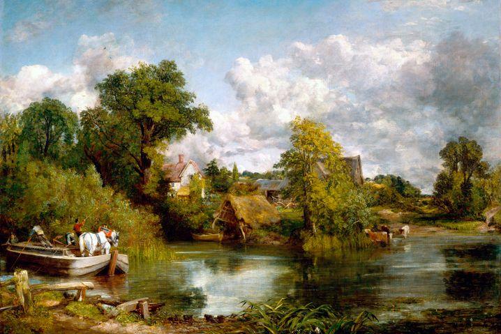 Werk von John Constable: Wolken als Sinnbild für den Klimawandel