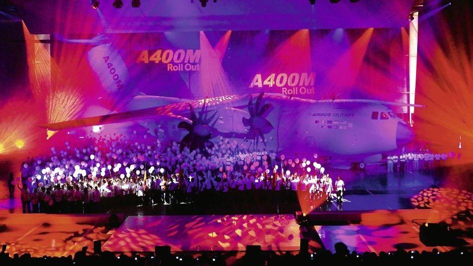Airbus-Militärtransporter-Präsentation in Sevilla 2008