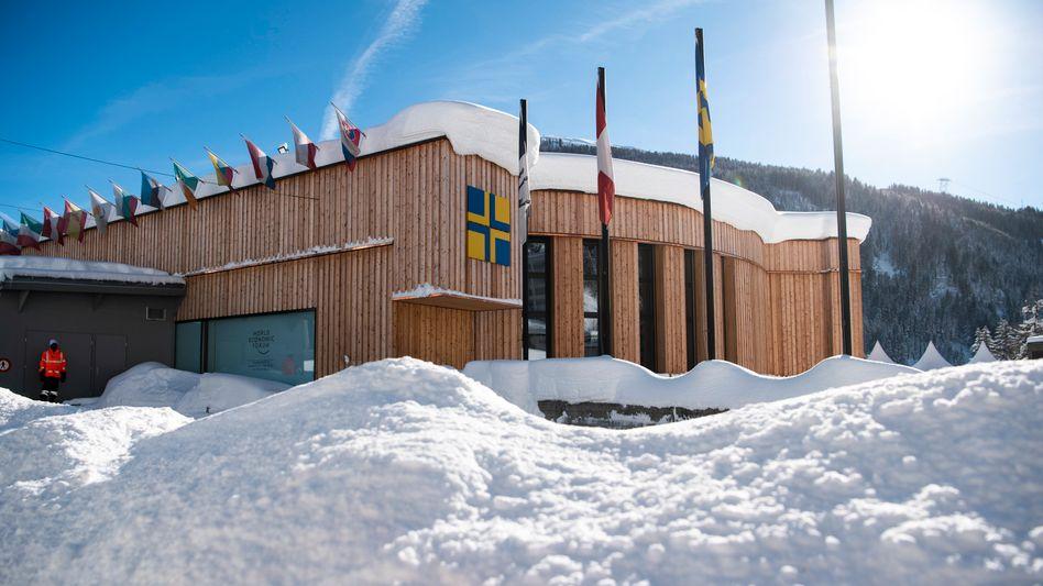 Das Kongresszentrum in Davos