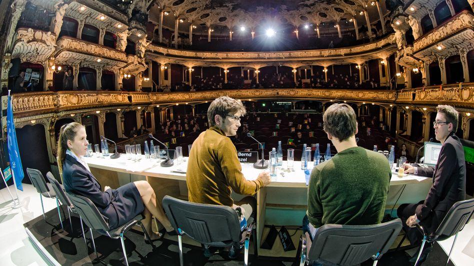 Theatergruppe Rimini Protokoll auf der Bühne: Wirklichkeitsanbeter, die keinen Autor sehen
