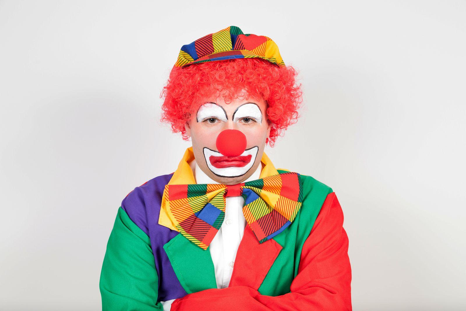 Clown/ Burnout