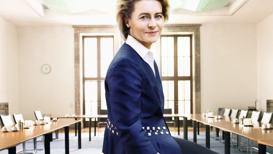 Arbeitsministerin von der Leyen