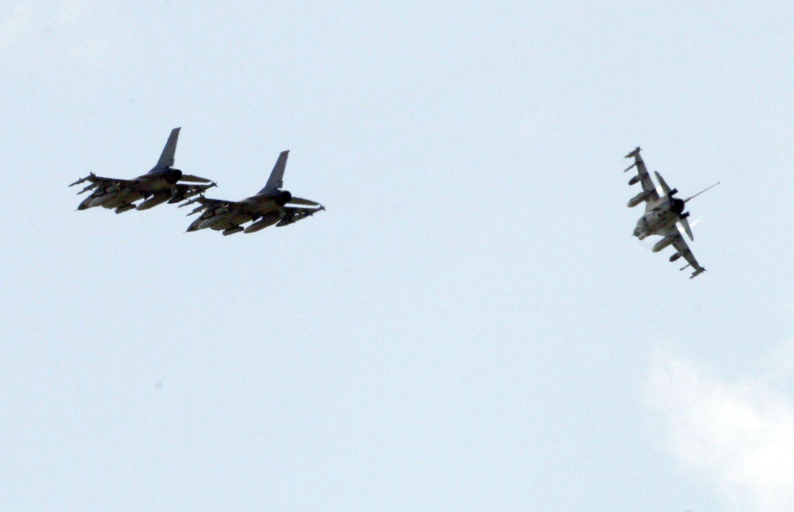 Libyen Luftschläge Samstag