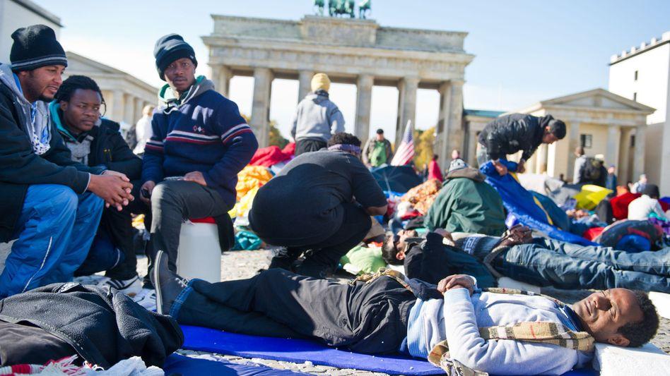 Flüchtlinge im Hungerstreik: Innenministerium will keine Asyl-Ausnahmen machen