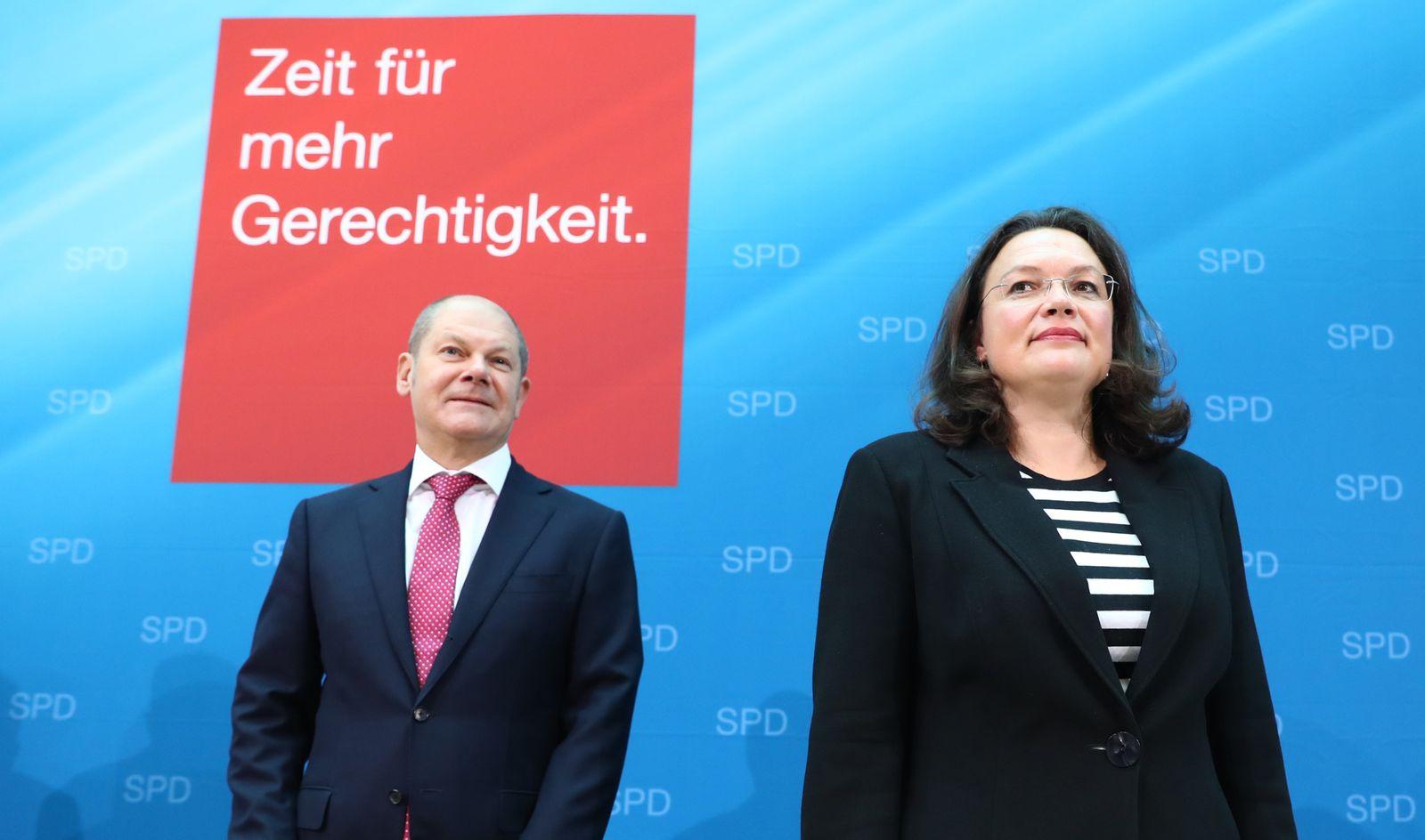 Scholz/ Nahles