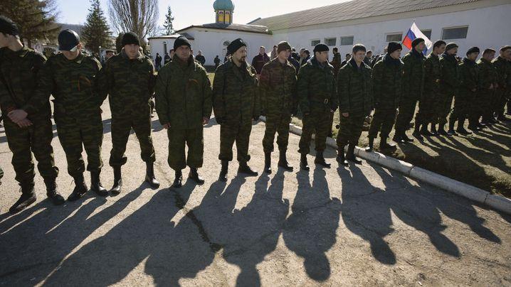 Krise auf der Krim: Der Tag in Bildern