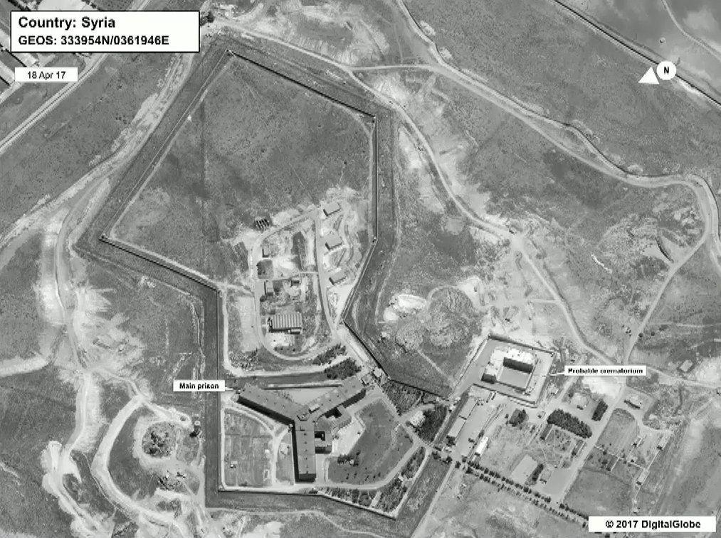 Syrien / Gefängnis Sednaya