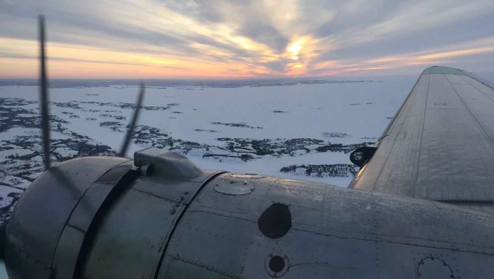 Fünfmal Yellowknife: Fliegen wie die Ice Pilots