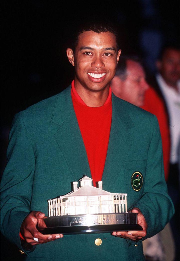Tiger Woods gewann 1997 das Masters in Augusta
