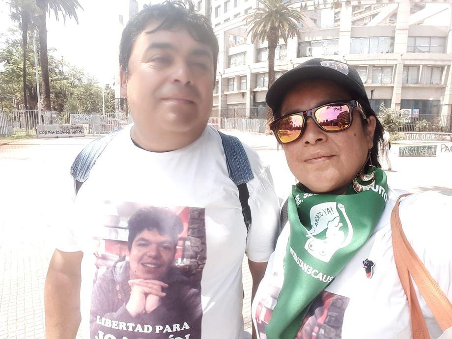 Die Eltern von Joaquín Cáceres haben eine Kampagne zur Freilassung ihres Sohnes gestartet