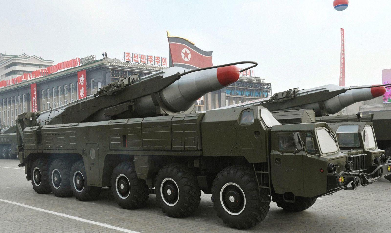 Nordkorea - Musudan-Rakete