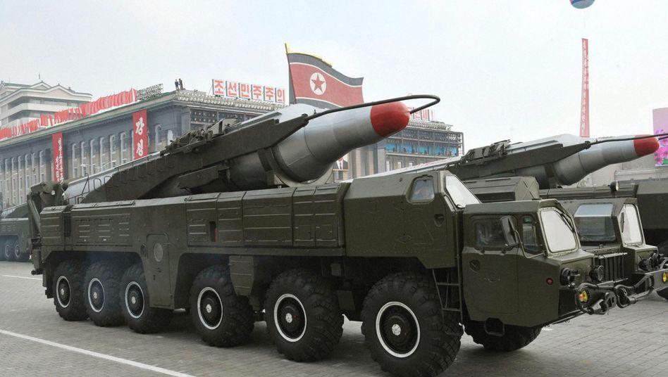 """Nordkoreanische Raketen: """"Entscheidendes Abschreckungsmittel"""""""