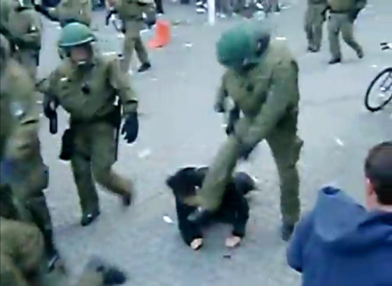 NICHT VERWENDEN Polizei ermittelt gegen Polizeibeamten wegen Koerperverletzung im Amt