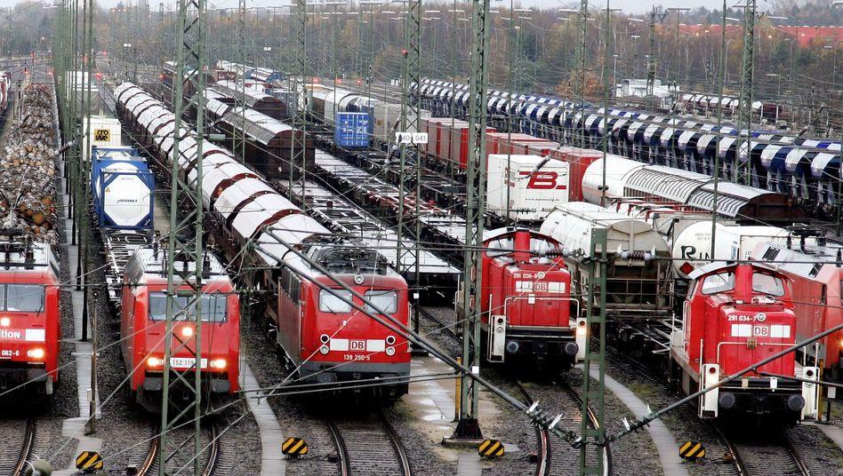 Güterzüge in Maschen bei Hamburg: Rost-Problem bei DB-Tochter Schenker Rail