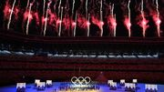 Die Eröffnung der Olympischen Spiele in Bildern
