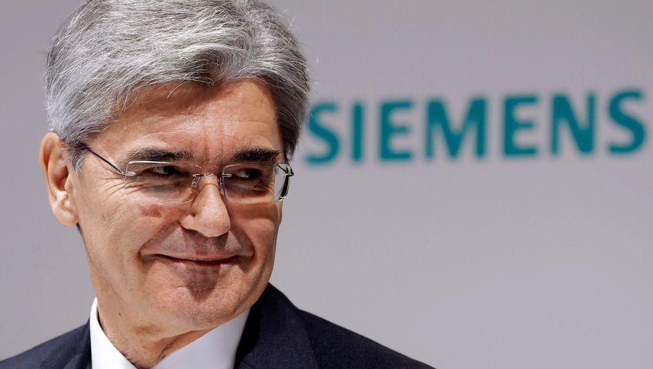 Siemens-Chef Joe Kaeser (Archivbild)