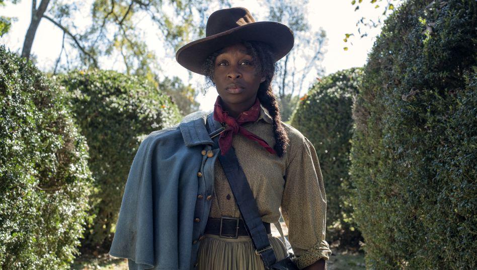 """Darstellerin Cynthia Erivo als Harriet Tubman in """"Harriet - Der Weg in die Freiheit"""": Tapfere Kriegerin im Dienst der Sklavenbefreiung"""
