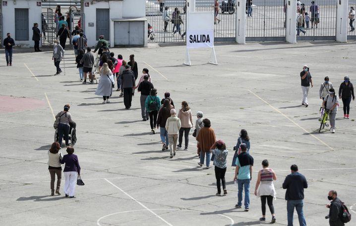 Wählen in der Pandemie: Die Wahlbeteiligung war deutlich höher als bei anderen Abstimmungen