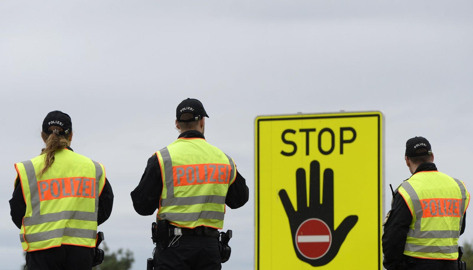 Deutschland/ Grenzkontrollen/ Polizei