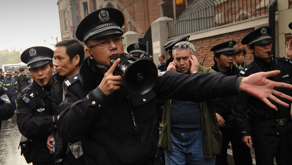 Proteste in China: Reporter unter Beobachtung
