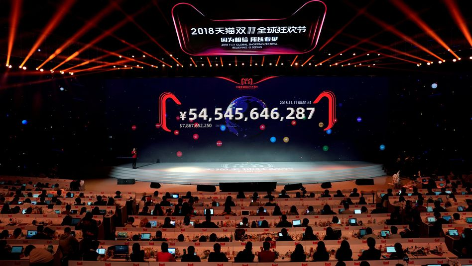 "Alibaba macht am ""Singles Day"" Kasse"