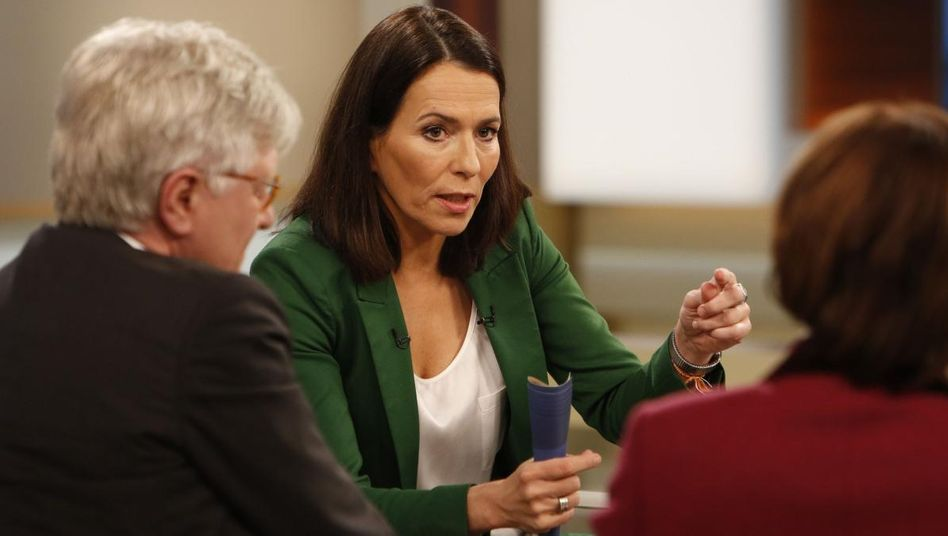 Moderatorin Will mit ihren Gästen: Sollte Österreich Vorbild werden?