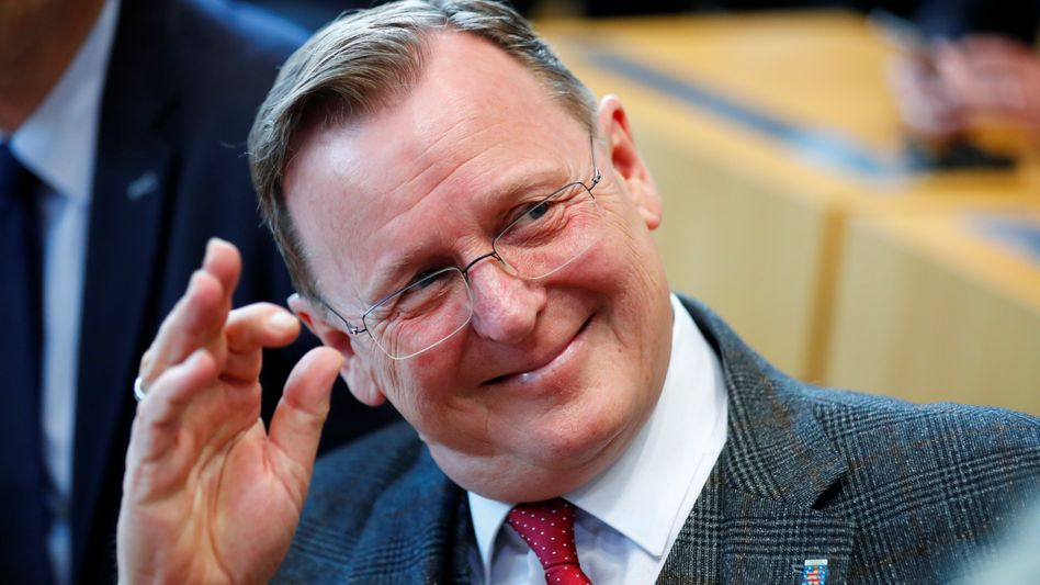 Linker Ex-Ministerpräsident Ramelow: Machttaktisches Manöver