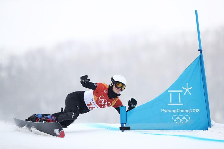 Selina Jörg (bei den Olympischen Winterspielen 2018 in Pyeongchang)