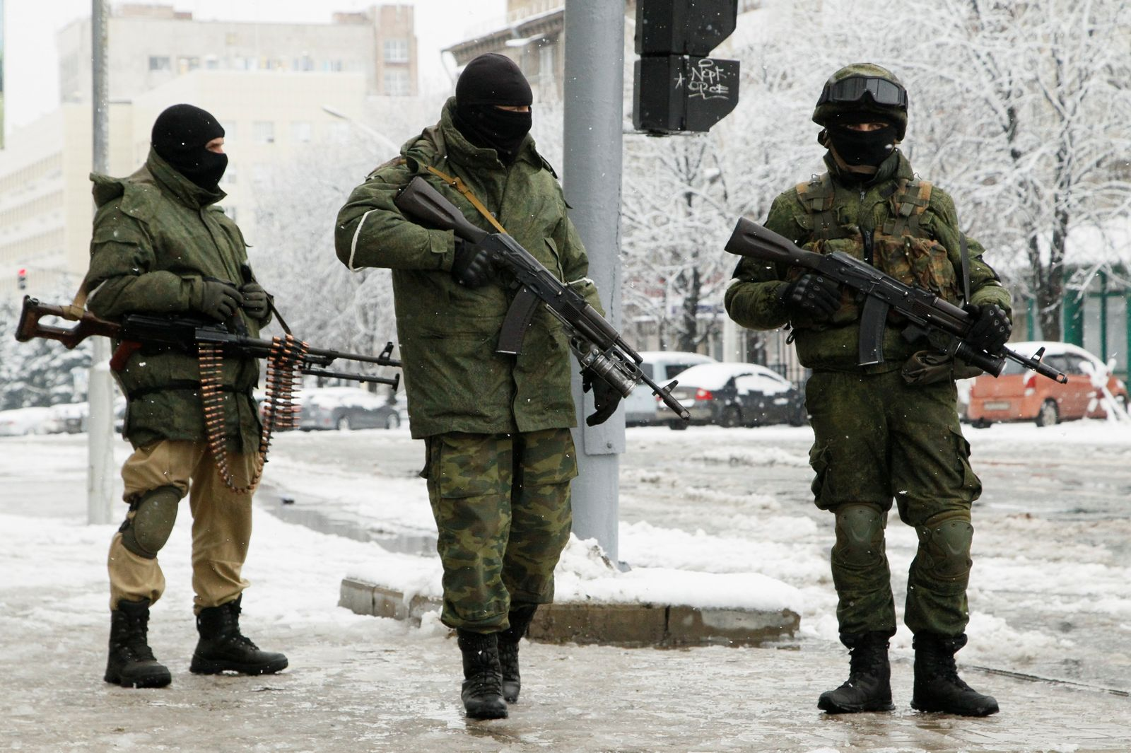 Ukraine/ Luhansk