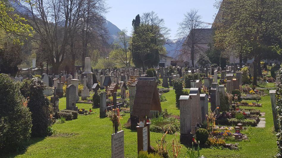 Der Alte Friedhof in Berchtesgaden