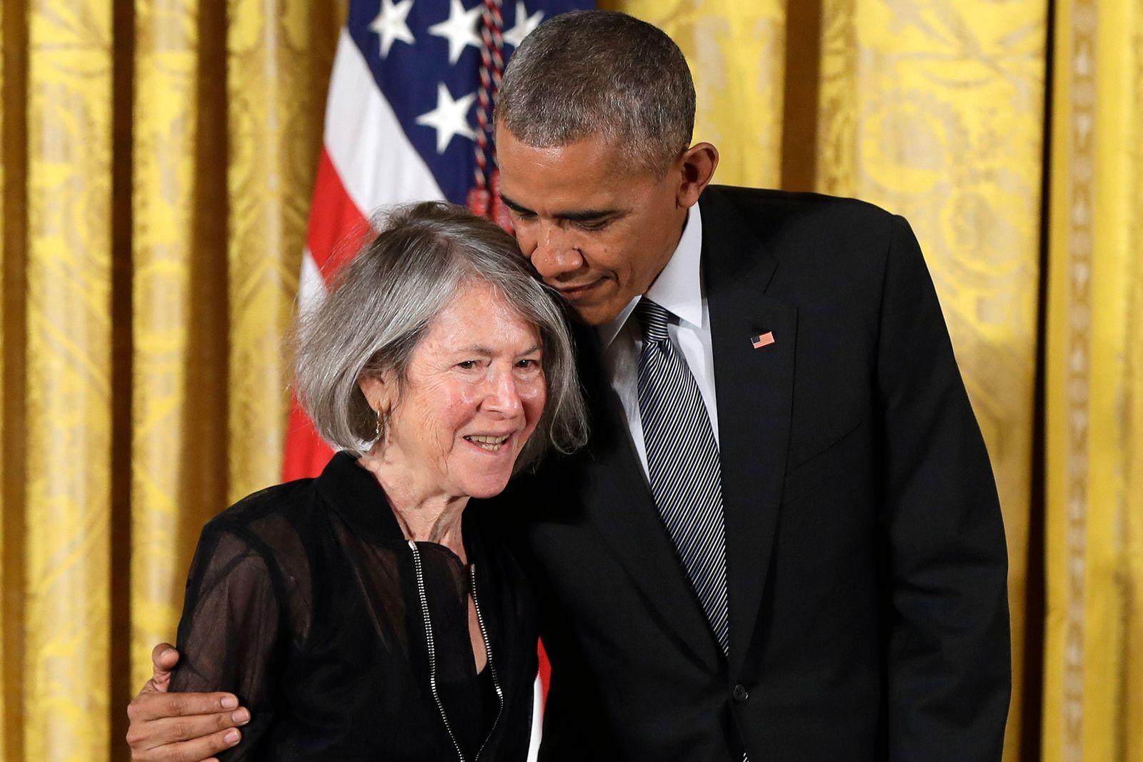 Barack Obama, Louise Gluck