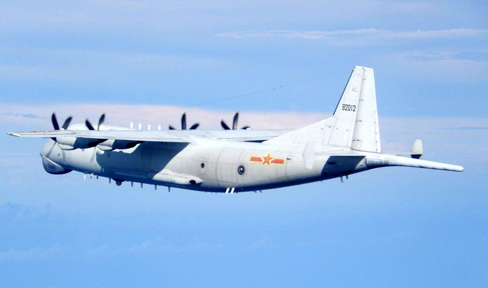 Chinese warplanes enter Taiwan airspace, Taipei - 19 Sep 2020