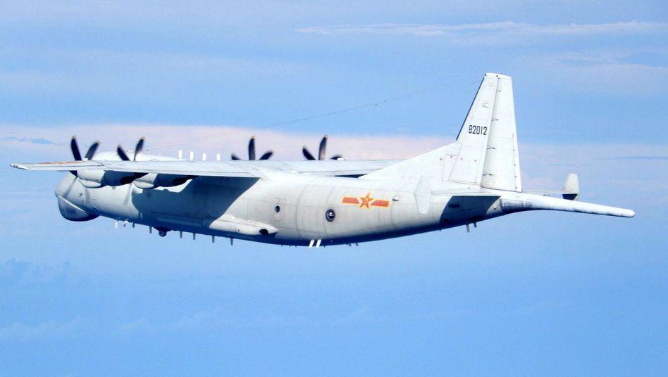 Ein chinesisches Flugzeug, ein Ziel: Taiwan