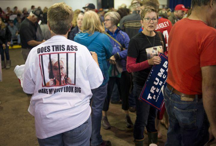 Trump-Anhänger in Ohio