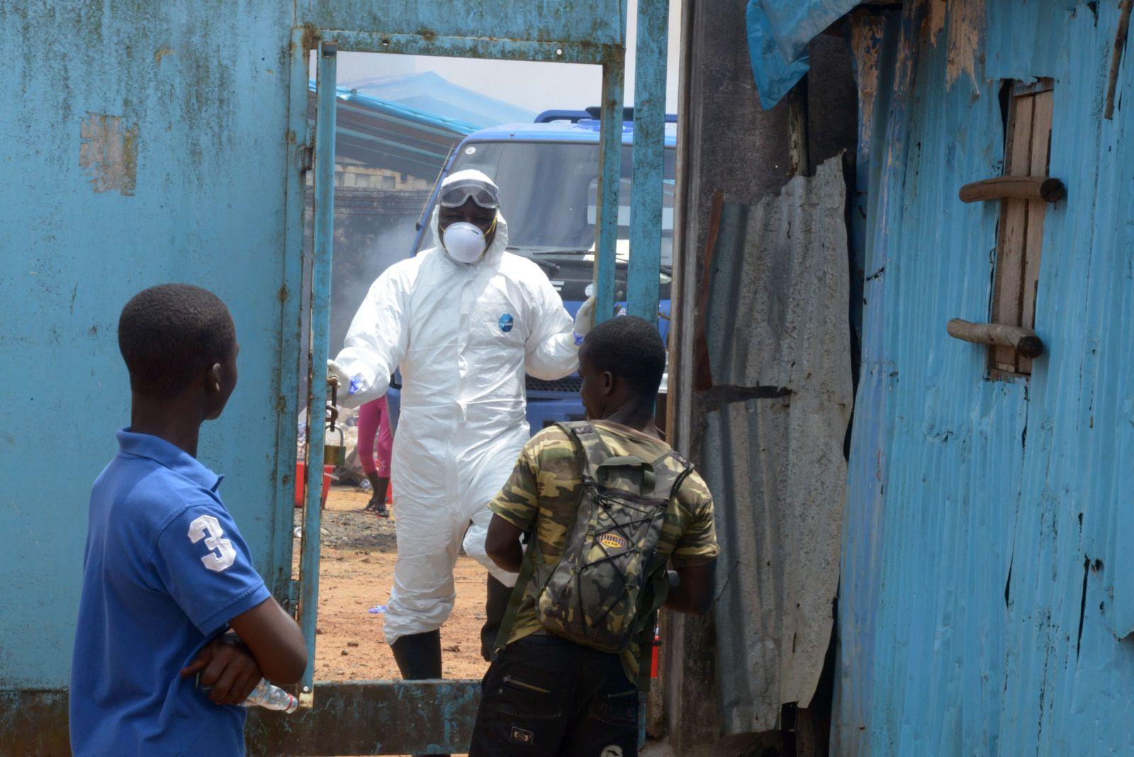 Ebola Nigeria Monrovia