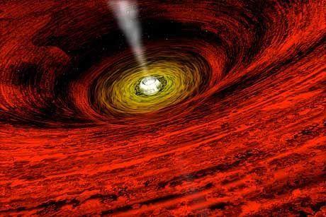 Schwarzes Loch (Computersimulation): Das Tor zu einem anderen Universum?