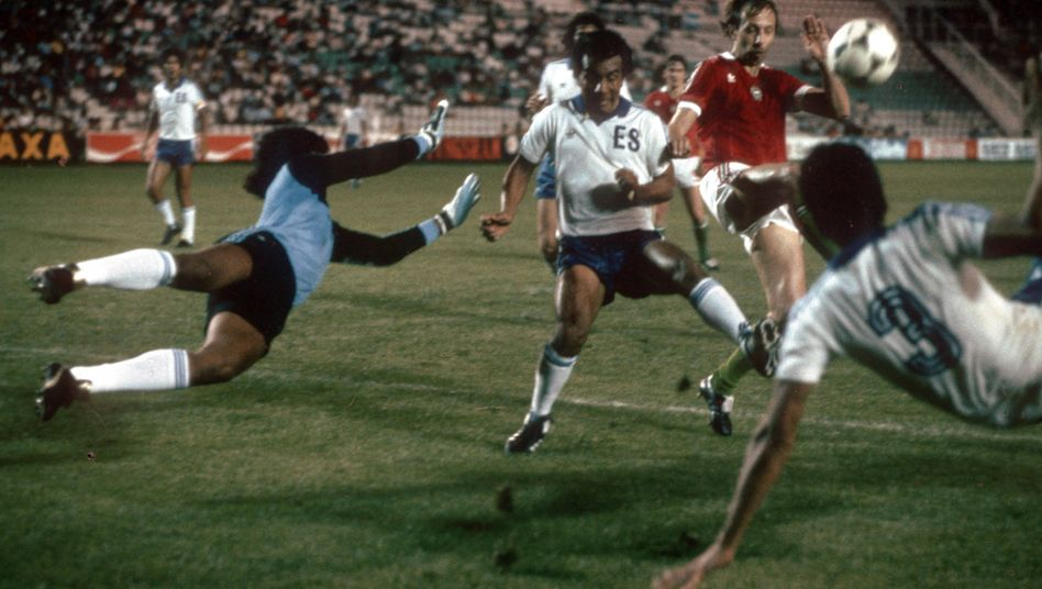 WM 1982: El Salvador gegen Ungarn