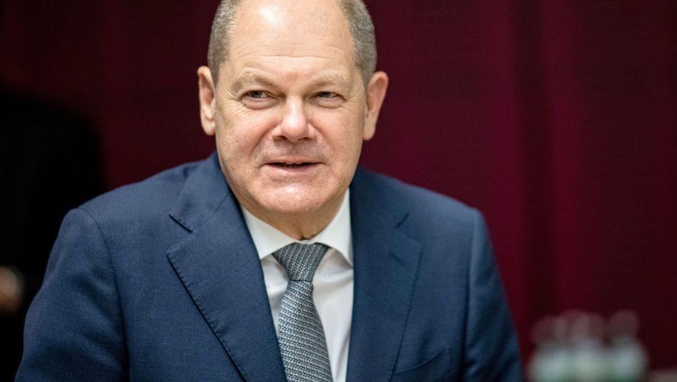 Olaf Scholz soll den europäischen Finanzministern einen finalen Gesetzentwurf vorgelegt haben