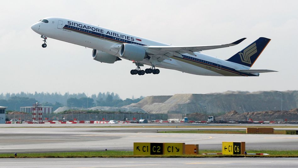 Singapore Airlines Airbus A350-900 (Archiv)
