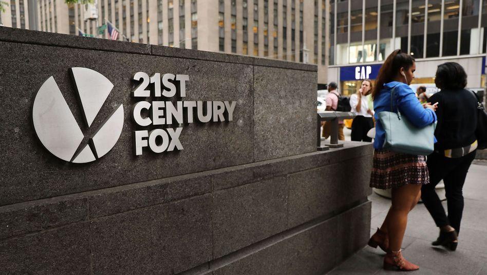 Das Hauptquartier von 21st Century Fox in New York