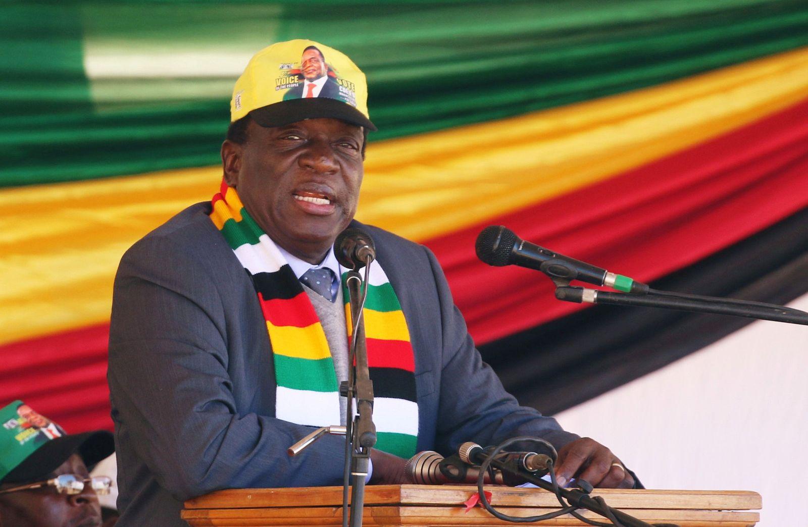 Simbabwe/ Wahl/ Emmerson Mnangagwa