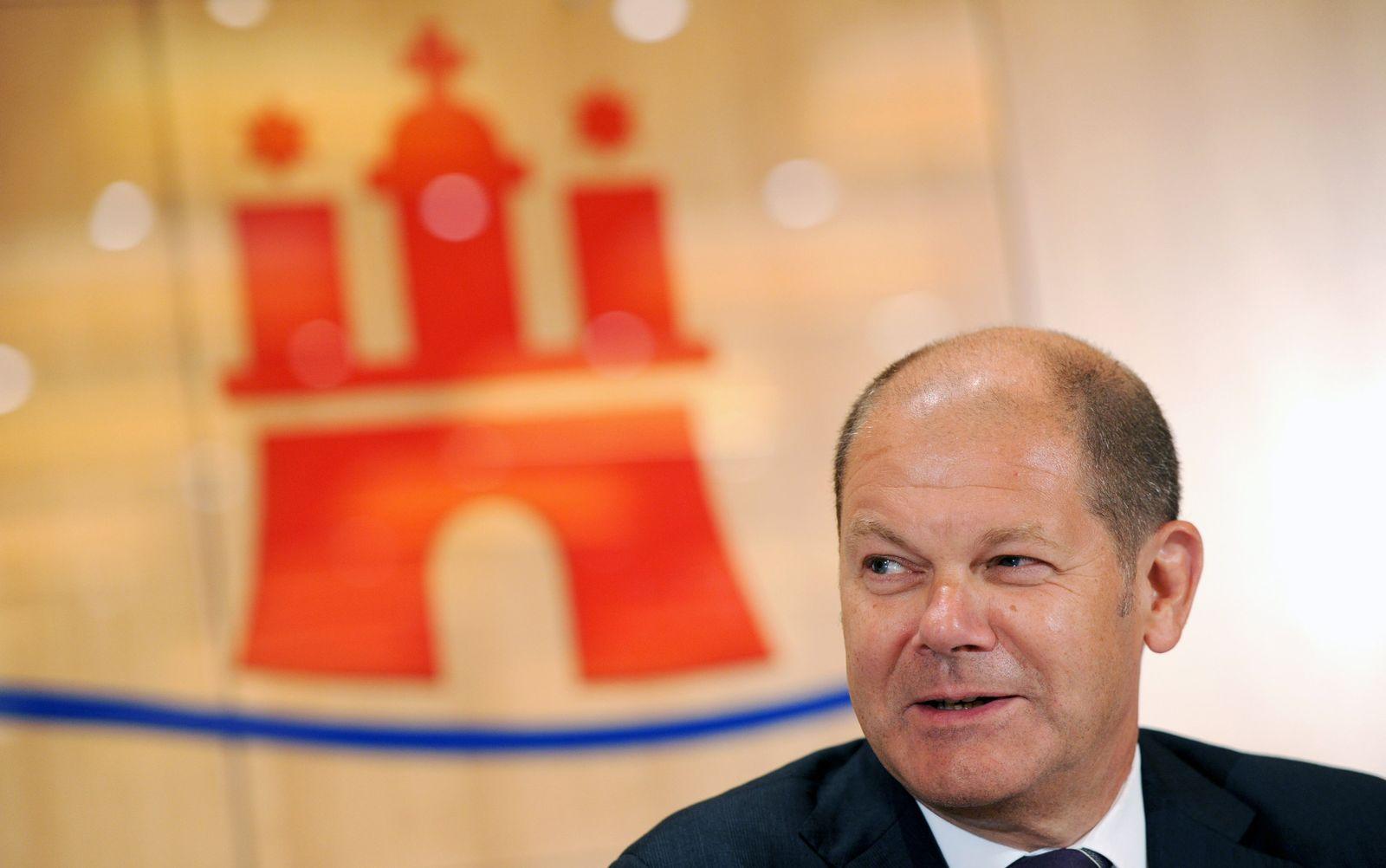 Hamburgs Bürgermeister Scholz