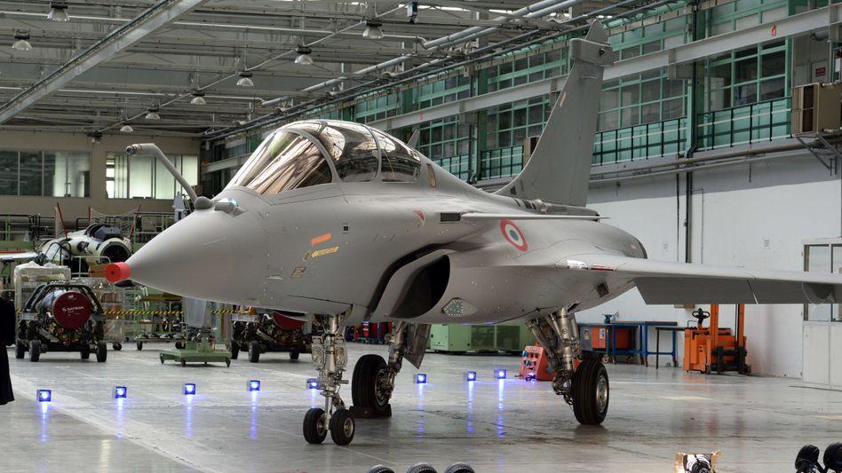 """Ein """"Rafale""""-Jäger vom französischen Hersteller Dassault: Indischer Premier kauft ein"""