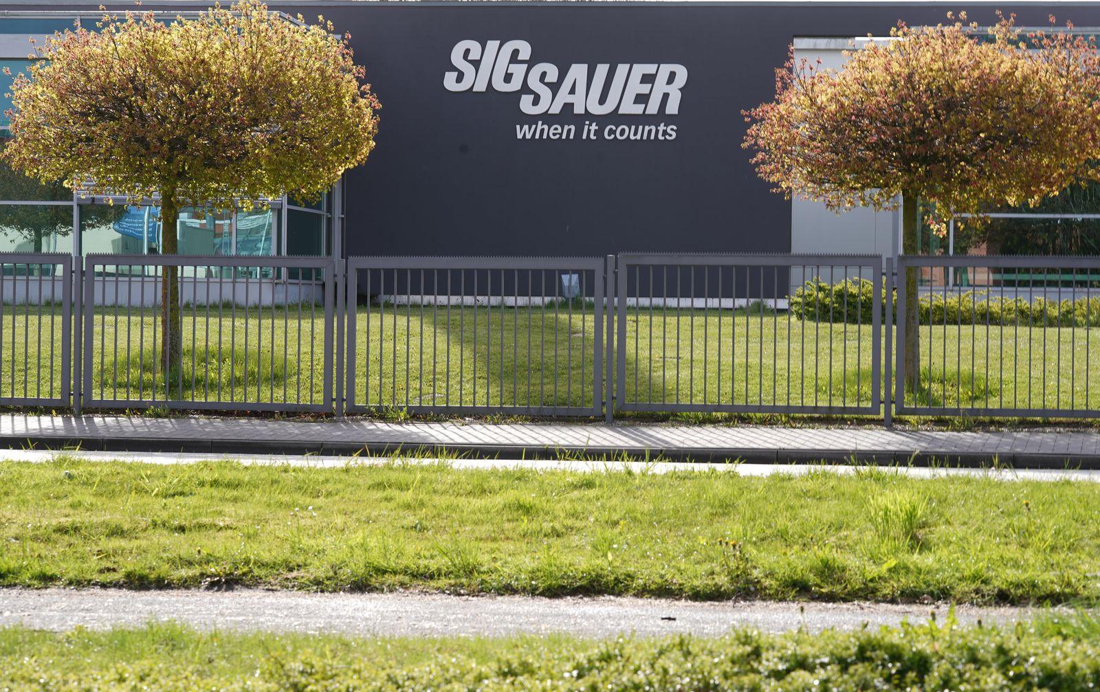 Millionen-Einziehung bei Sig Sauer war rechtens